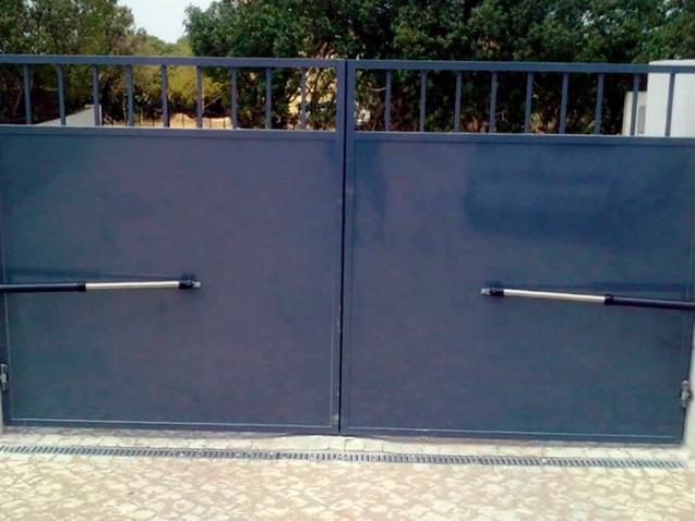 Manutenção-de-portão-automático-pivotante